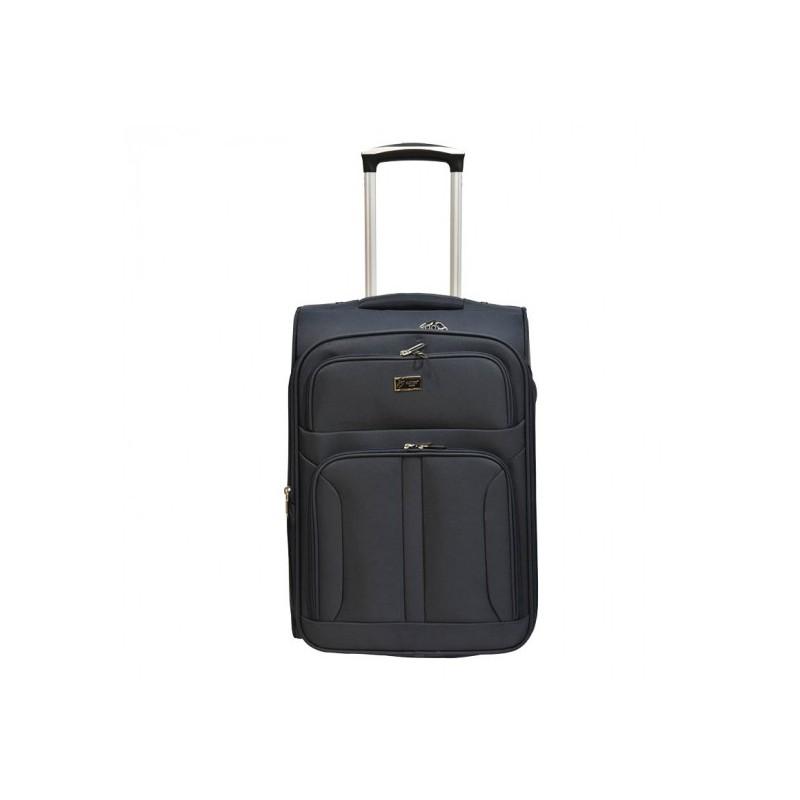 Vidutinis medžiaginis lagaminas Airtex 6525 juodas