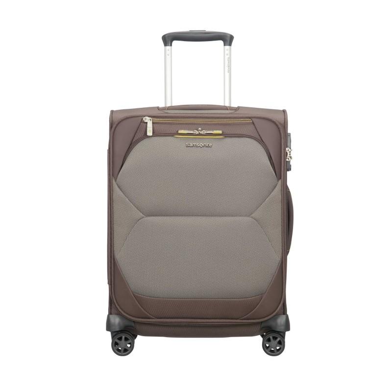 Mažas lagaminas Samsonite Dynamore M-4W rudas