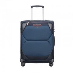 Mažas lagaminas Samsonite Dynamore M-4W mėlynas