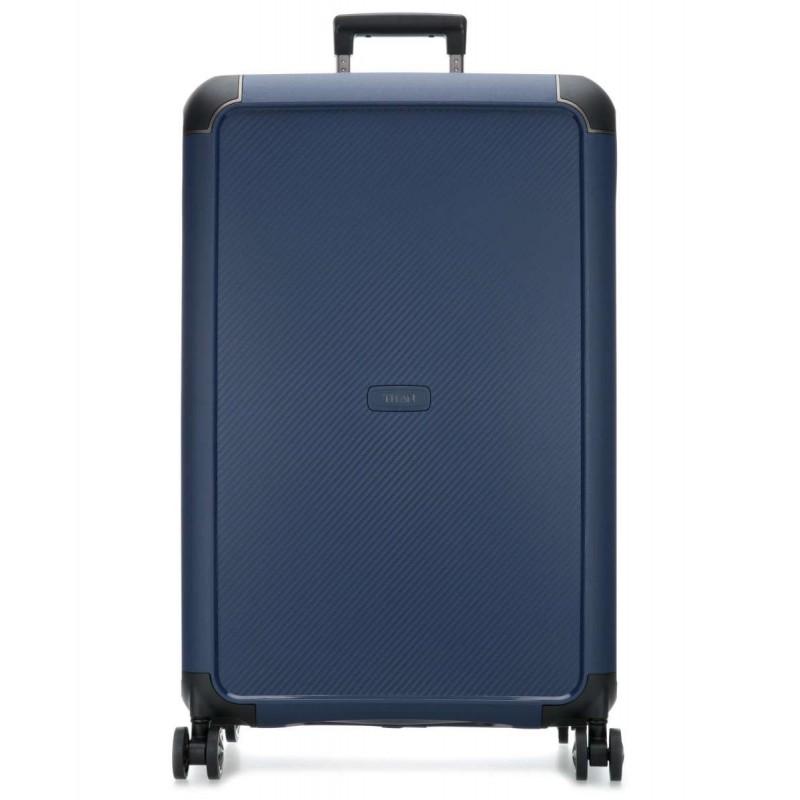 Didelis plastikinis lagaminas Titan Compax-D Mėlynas