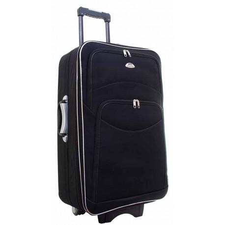 Didelis medžiaginis lagaminas Deli A101-D Juodas