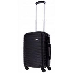 Mažas plastikinis lagaminas Bagia 8080-M Juodas