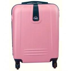 Mažas plastikinis lagaminas Gravitt 168B-M Rožinis