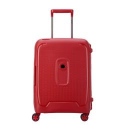 Mažas lagaminas Delsey Moncey M-4W raudonas